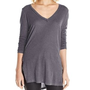 Splendid Vintage V Neck Long Sleeve Top